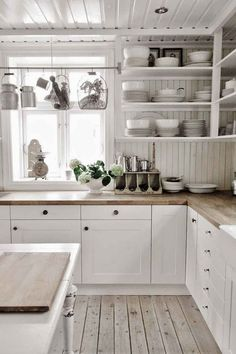 44 Best Farmhouse Kitchen Cabinets Design Ideas And Decor. If you are looking for 44 Best Farmhouse Kitchen Cabinets Design Ideas And Decor, You come to the right place. Kitchen Corner, New Kitchen, Kitchen Interior, Kitchen White, Awesome Kitchen, Beautiful Kitchen, Nordic Kitchen, Scandinavian Kitchen, White Kitchens
