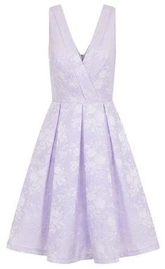 Womens ice lavender chi chi london cross-front midi dress- purple from Dorothy Perkins - £68.99 at ClothingByColour.com