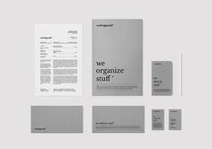 Personal brandingAs part of our website launch and the first steps of our brand Wedesignstuff, we created our own corporate identity. We wanted to create a clear, minimalist look with an emphasis on communicating our design process. At the same time the…