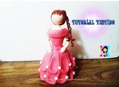 Con esta serie de Videos Tutoriales aprende como realizar muñecas para pastel, quinceañeras, novias, princesas y mas...