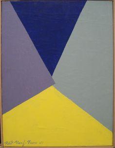 Rudolf Urech-Seon - Flächenaufteilung, 1947 Hard Edge Painting, Figure Painting, Hallway Art, Art Rules, Abstract Geometric Art, Inspirational Artwork, Art For Art Sake, Elements Of Art, Palette