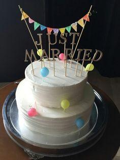 wedding cake 手作りケーキトッパー♡