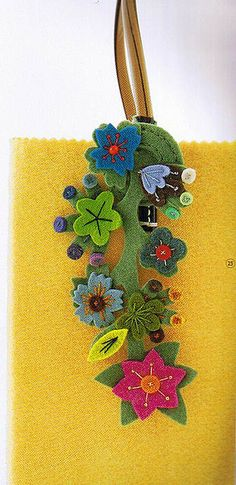 Japanese Felt Bookmark