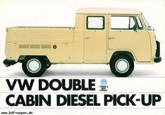 VW - 1982 - VW Double Cabin Diesel Pick-Up
