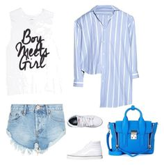 """""""Outfit Diafe campo 30 años fría subverano"""" by lorena-farias ❤ liked on Polyvore featuring OneTeaspoon, Vetements, Vans and 3.1 Phillip Lim"""