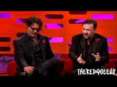 Graham Norton chats to Hollywood icon Johnny Depp, Oscar-nominated actress Carey Mulligan, comedy superstar Ricky Gervais, and top stand-up Ed Byrne. Norton Show, Ricky Gervais, Bryan Cranston, Carey Mulligan, Eddie Redmayne, James Mcavoy, Hollywood Icons, Benedict Cumberbatch, Looks Cool