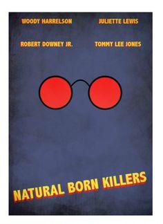 Items similar to natural born killers minimal minimalist movie film print poster on Etsy Best Movie Posters, Cartoon Posters, Minimal Movie Posters, Film Posters, Excellent Movies, Good Movies, Minimalist Poster, Minimalist Art, Natural Born Killers