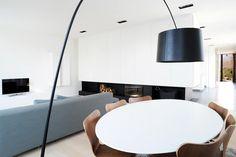 Niedrigenergiehaus in Filsdorf - Haus Kieffer: klassische Wohnzimmer von STEINMETZDEMEYER architectes urbanistes