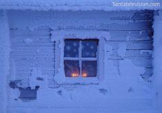 Época Natalícia na Montanha de Ruka na Lapônia, Finlândia