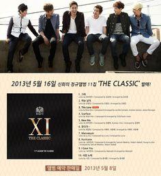 Shinhwa revealed album cover + tracklist for 11th album 'The Classic'