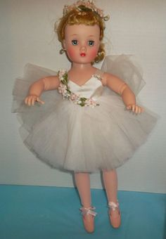 Madame Alexander Vintage Elise Ballerina doll with Tagged Outfit and shoes
