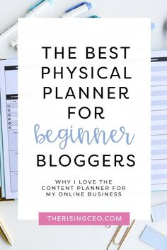 Are you looking for the perfect planner to plan out your content? Here's why The Content Planner is the best tool for bloggers! #blogging #business Perfect Planner, Blog Planning, Planner Tips, Printable Planner, Free Printable, Creating A Business, Blogging For Beginners, How To Start A Blog, Online Business