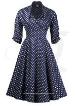 1930s, 40s & 50s inspired dresses and clothing for the elegant lady from The House of Foxy - made in Great Britain