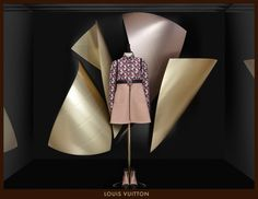 """Louis Vuitton by architect Frank Gehry,""""they are like sailsby a following wind,we'vecalled them """"Wind Wings"""", pinned by Ton van der Veer"""