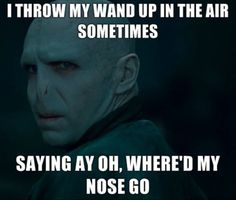 "Voldemort is French for ""Cheater of death!"""