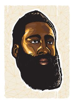 James Harden Illustration