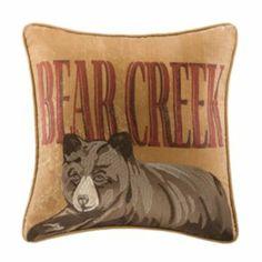 Woolrich Bear Creek Decorative Pillow