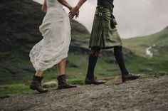 Secret Scottish Elopement on the Isle Of Skye: Laura + Damian