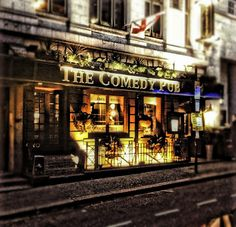 The Comedy Pub HDR-Sounds like such a fun place! Pub Crawl, Sounds Like, View Image, Hdr, Broadway Shows, Comedy, London, Places, Travel