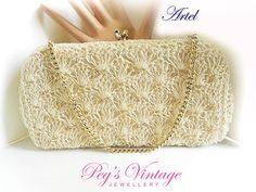 Rare Vintage Artel MFG Clutch//Bag Micro by PegsVintageJewellery, $18.00
