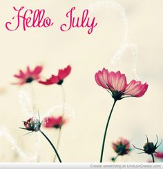 Hello July - a post by @utesmile