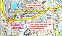 Coniston Race Map Maps, Racing, Personalized Items, Auto Racing, Lace, Cards, Peta, Map