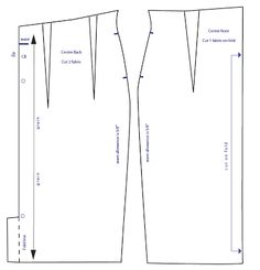House of Marmalade: High waisted pencil skirt pattern