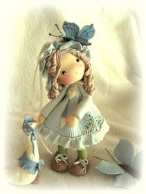 A place to dream, dolls, fairies and goblins: bambolina pasta mais Polymer Clay Ornaments, Polymer Clay Figures, Polymer Clay Dolls, Polymer Clay Projects, Clay Crafts, Cold Porcelain, Porcelain Skin, Japanese Porcelain, Porcelain Tile