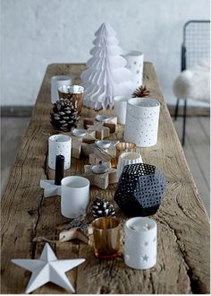 Ready for Christmas? Here are some inspirations! http://www.bloomingville.com