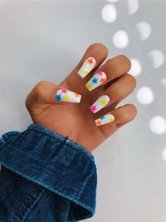 See more of donatellabarbero's VSCO. Shoe Nails, Gel Nails, Stylish Nails, Trendy Nails, Long Cute Nails, Acrylic Nails Coffin Glitter, Acylic Nails, Funky Nails, Dream Nails