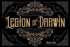 Legion of Darwin by Mister Chek on @creativemarket
