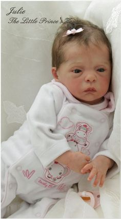 Tiny Premature REBORN from Julie kit by Evelina Wosnjuk Baby Girl Doll