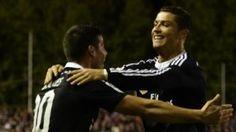 real madrid wins 0-2 rayo vallecano