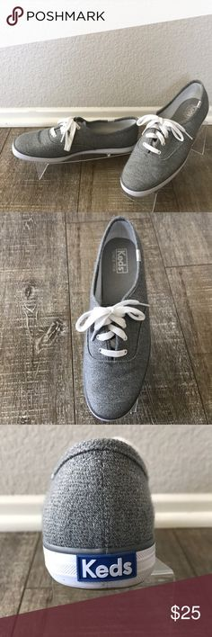 NWOT Keds Champion Jersey Sneaker Brand new, only tried on in the store. These are comfortable and and I love the color and texture of the fabric! Keds Shoes Sneakers