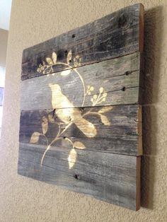quadro em madeira