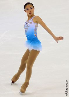 caroline zhang  spread eagle. I love watching the ice skating Please check out my website Thanks.  www.photopix.co.nz