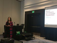 Janet Schijns @channelsmart talks about elevating your brand at #channelvisionaries in Santa Clara