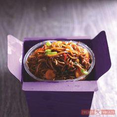 Szecsuáni csirkés tészta Wok, Japchae, Pasta, Ethnic Recipes, Pasta Recipes, Pasta Dishes