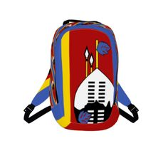 #swazi by #diplomaticimmunity, #citrusreport, #alloverprint, #bag, #backpack, #pac, #pack, #swazi, #red, #yellow, #blue,#@Matty Chuah Citrus Report