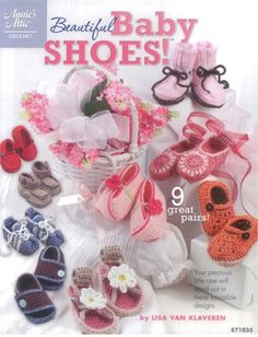 Maggie's Crochet · Beautiful Baby Shoes