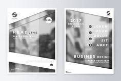 Annual report brochure.. Business Infographic