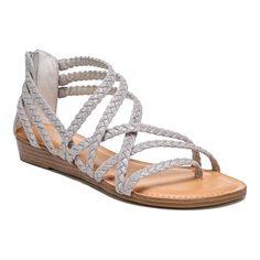 6d9e09450f41 Women s Carlos by Carlos Santana Amara 2 Strappy Sandal - Opale Fabric  Sandals