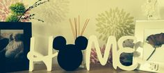Disney 'home' plaque