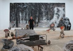 Anselm Kiefer and His Hallmarks Have a Moment - NYTimes.com