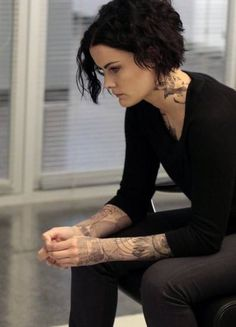 """BLINDSPOT -- """"Erase Weary Youth"""" Episode 113 -- Pictured: Jaimie Alexander as Jane Doe -- (Photo by: Giovanni Rufino/NBC)"""