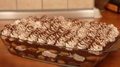 Fantastická čoko-torta s piškótami: Milujú ju malí aj veľkí! Sweet Desserts, Sweet Recipes, Sweet And Salty, Baked Goods, Tiramisu, Sweet Tooth, Bakery, Cooking Recipes, Sweets