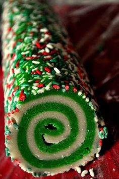 Our Italian Kitchen: Colorful Swirl Cookies