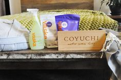 Win $100 in Vaska laundry detergent and a $150 @Coyuchi gift card - 4 winners!  Contest ends 11/20/14  #refreshforguest  #lovelaundry