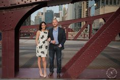 Chicago Bridges, Engagement session