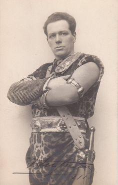 Fernand Ansseau, Belgian tenor, 1918